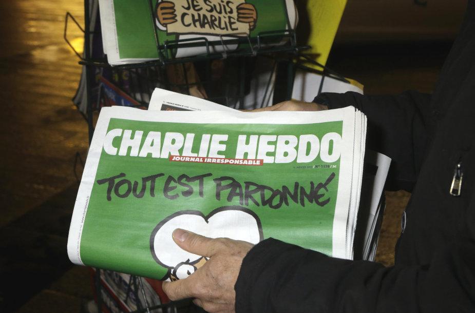 """""""Charlie Hebdo"""" laikraštis"""