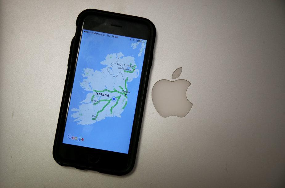 """""""Apple"""" Airijai turės sumokėti 13 mlrd. eurų"""
