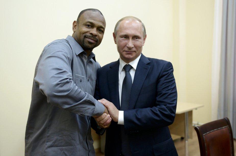 Roy Jonesas Jr. su Vladimiru Putinu