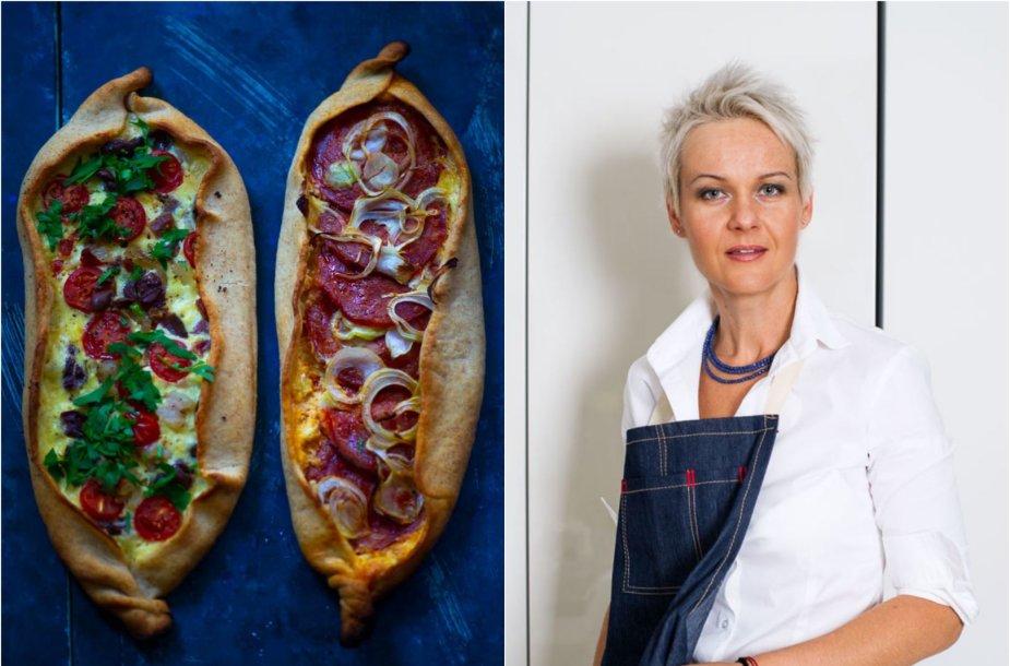 """Nida Degutienė ir jos keptos turkiškos picos """"pidė"""""""