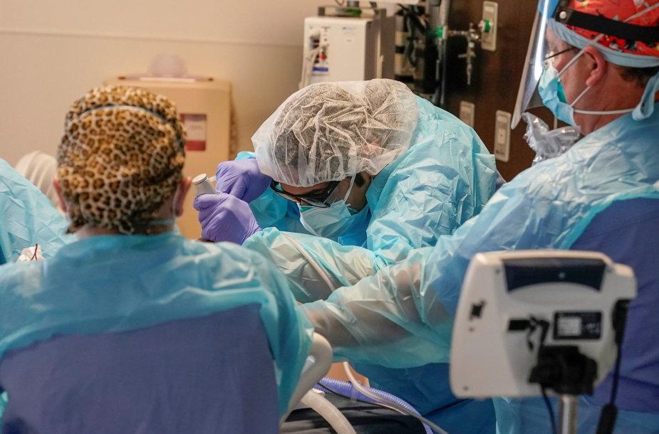 Kova su koronavirusu JAV