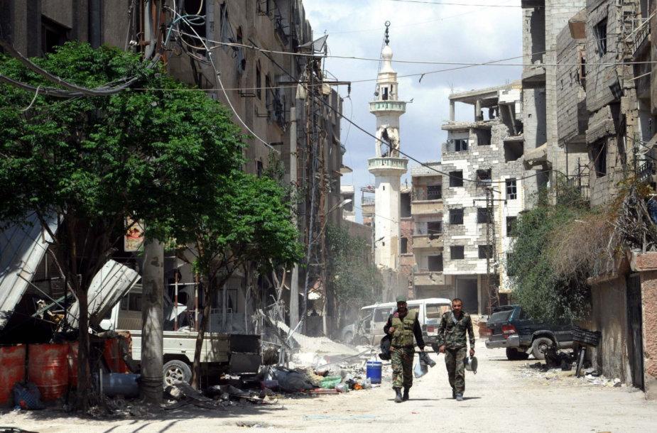 Jei JAV smogs Sirijai, į kokius objektus bus taikomasi?