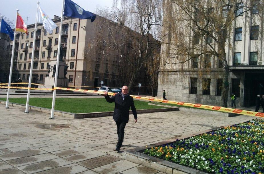 Visvaldas Matijošaitis prie Kauno miesto savivaldybė