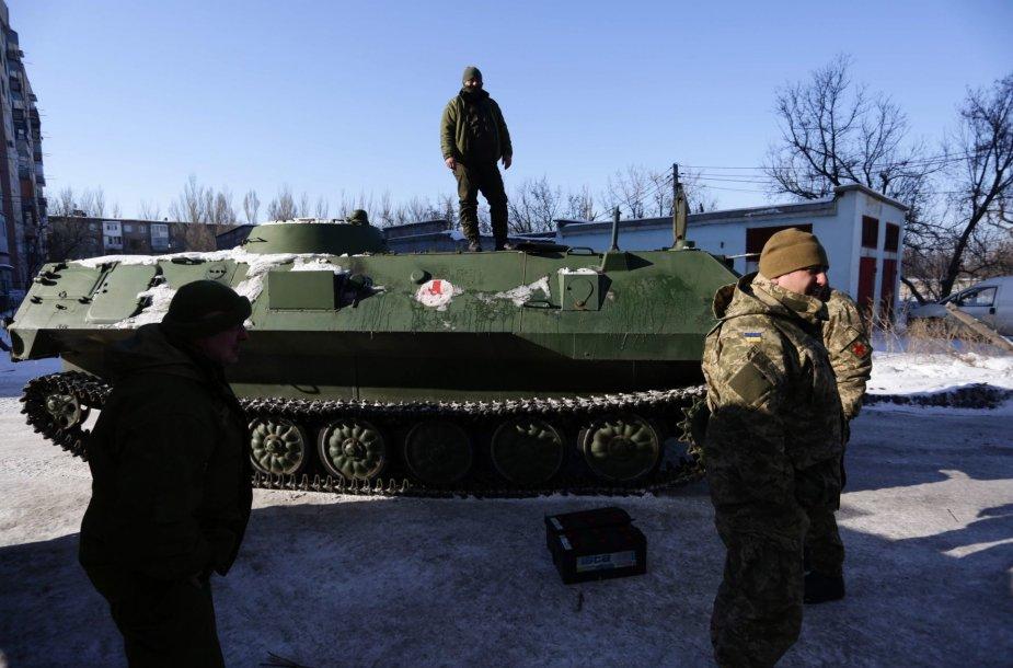 Rytų Ukrainoje suintensyvėjo susirėmimai