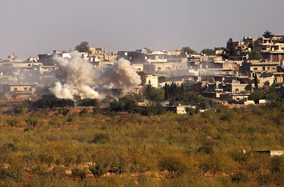 Sirijoje pranešama apie naujus susirėmimus
