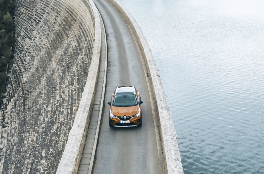 "Naujasis ""Renault Captur"""