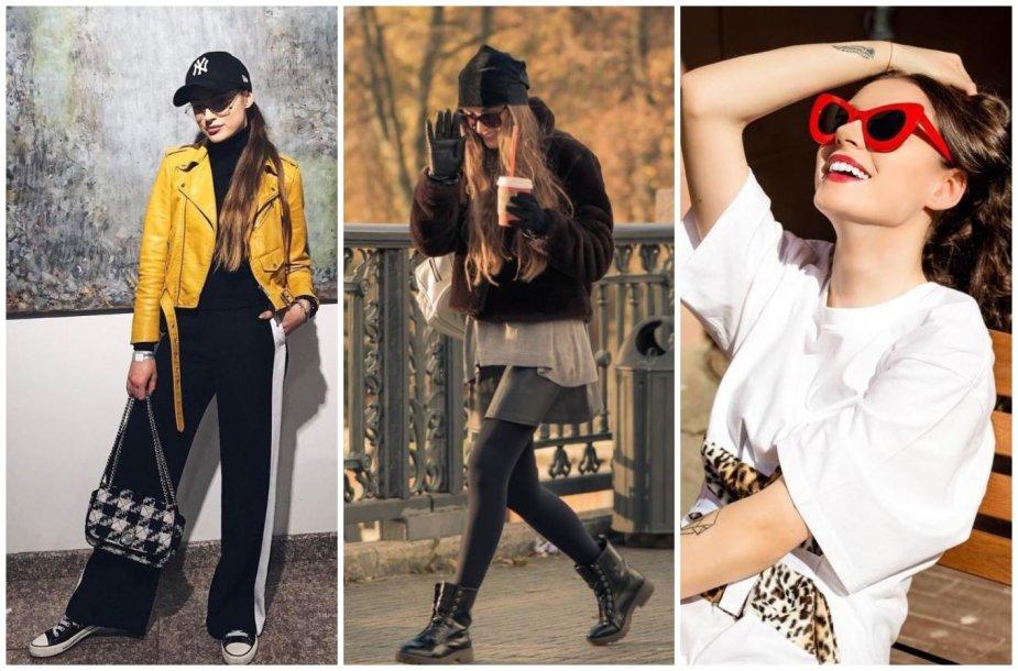 Saida Pareštytė ir jos kurtas stilius iš dėvėtų drabužių