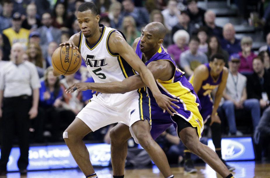 Rodney Hoodas ir Kobe Bryantas