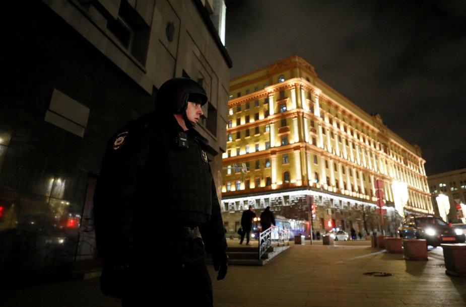 Maskvos centre skambėjo šūviai