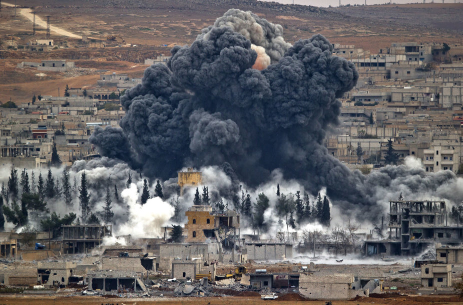 Oro ataka Sirijoje