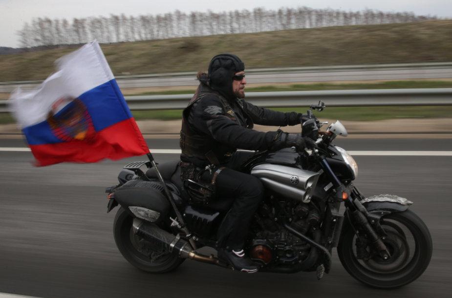 """""""Naktinių vilkų"""" vadas Aleksandras Zaldostanovas (""""Chirurgas"""")"""