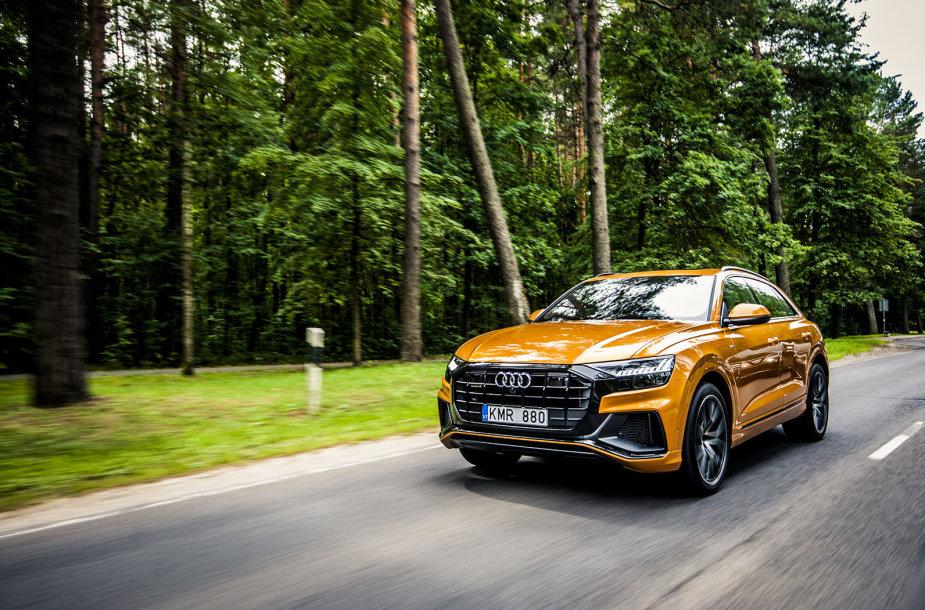 """Vilniuje pristatytas naujasis """"Audi Q8"""""""