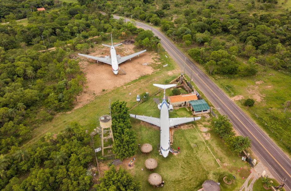 Nebenaudojami lėktuvai