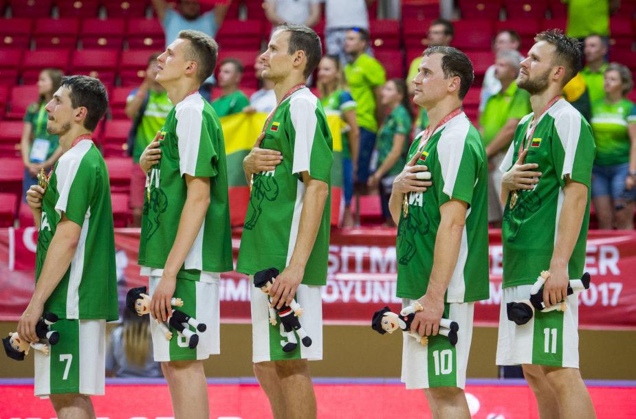 Lietuvos kurčiųjų krepšinio rinktinės triumfas