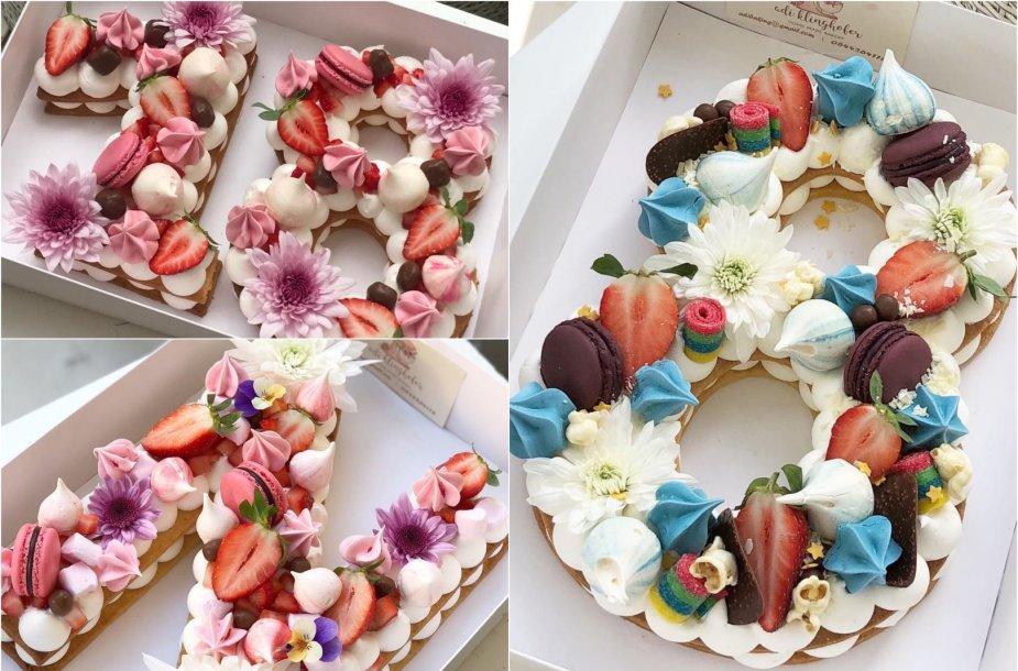 Įspūdingi tortai