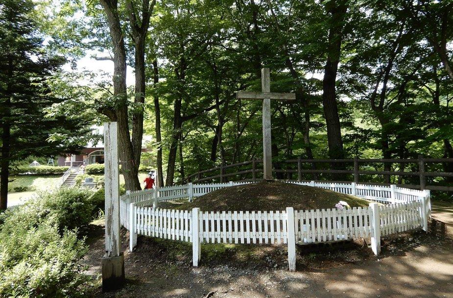 Jėzaus Kristaus kapas Japonijoje