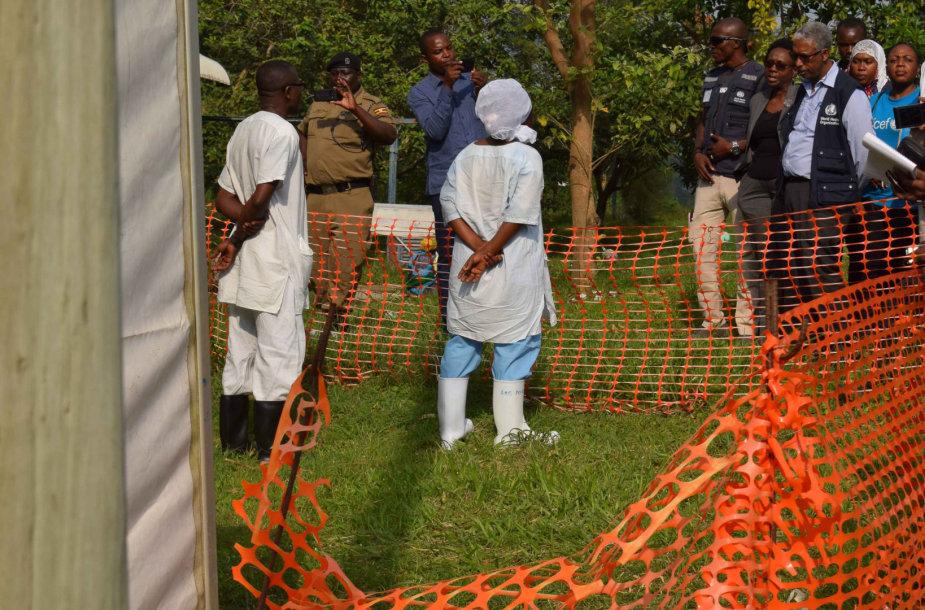 Ebolos viruso protrūkis Ugandoje