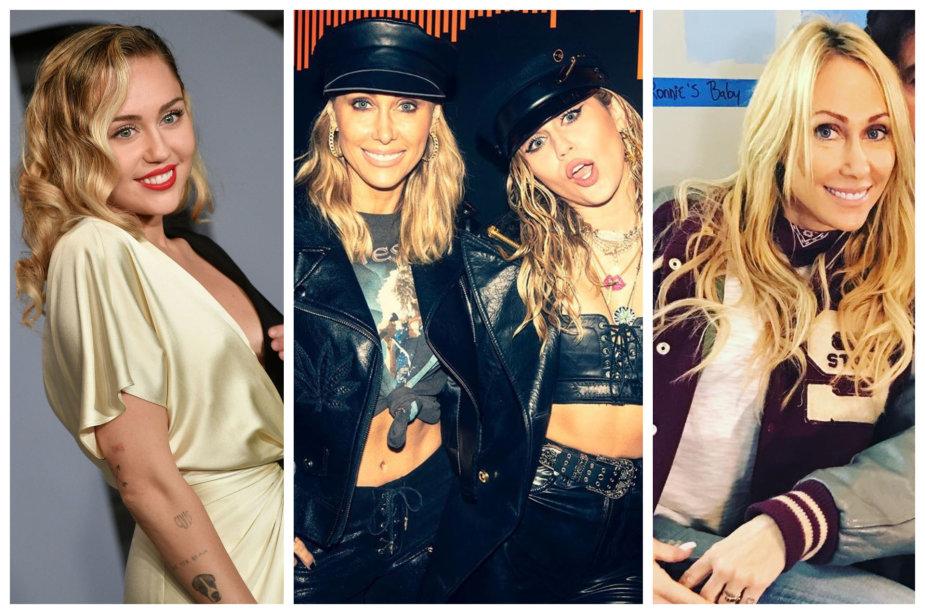 Miley Cyrus su mama Tish Cyrus