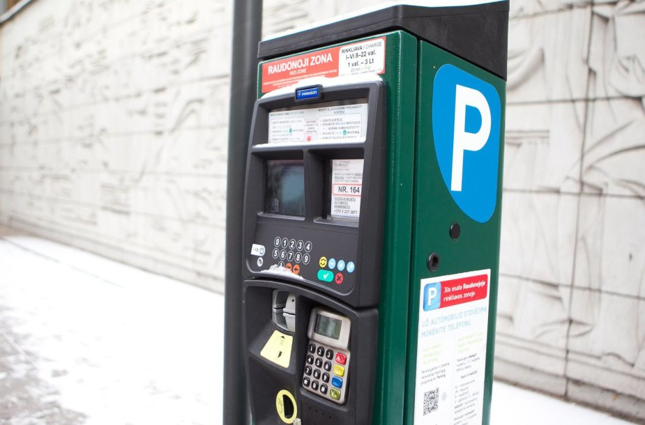 Mokėjimo automatai nuo sausio 1 dienos priims tik eurus.