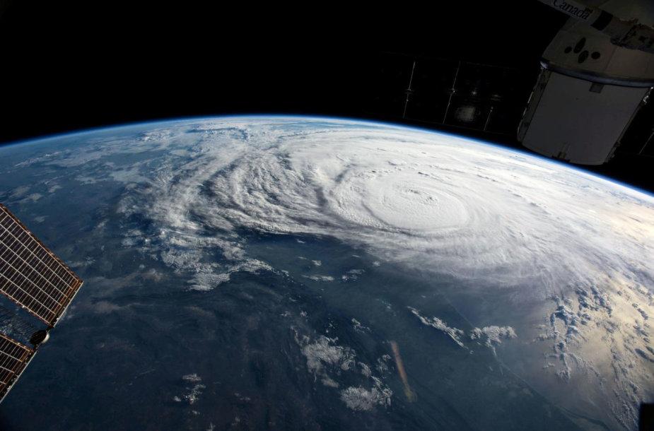 Uraganas Harvey virš Teksaso pakrantės