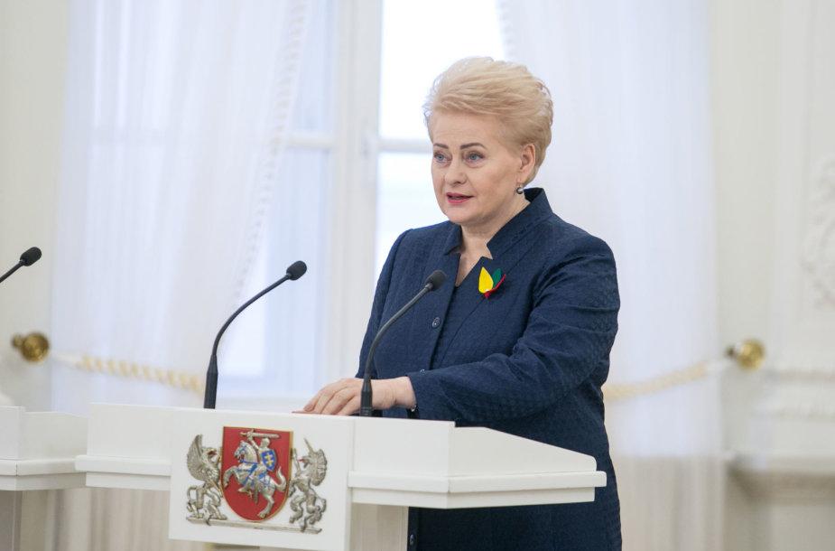 Dalia Grybauskaitė ir Kajatonas Šliogeris