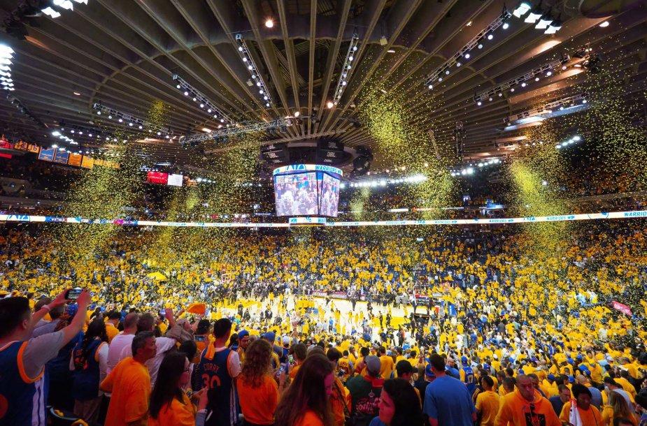"Antrosios NBA finalo serijos rungtynes: ""Warriors"" – ""Cavs"""