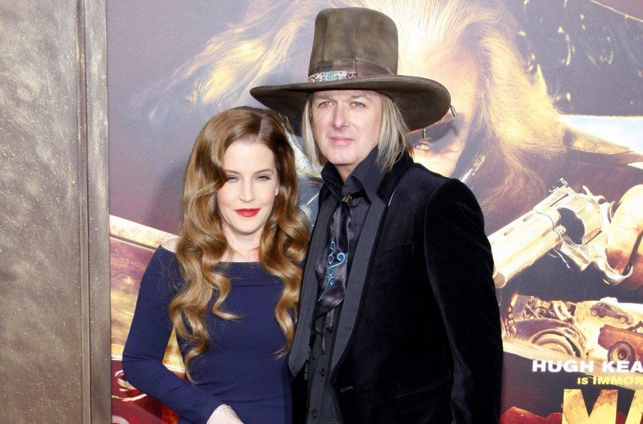 Lisa Marie Presley ir Michaelas Lockwoodas