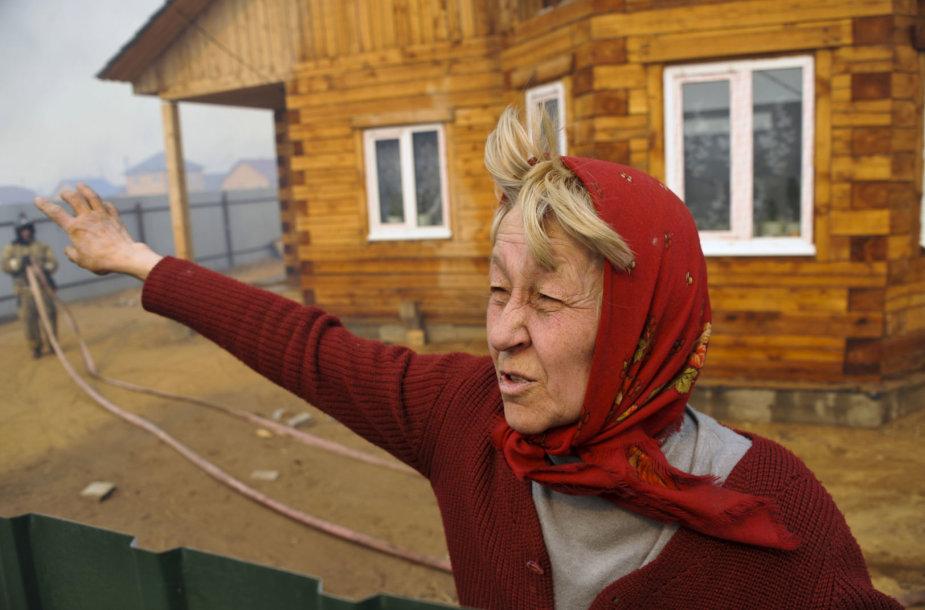 Kaimas Sibire