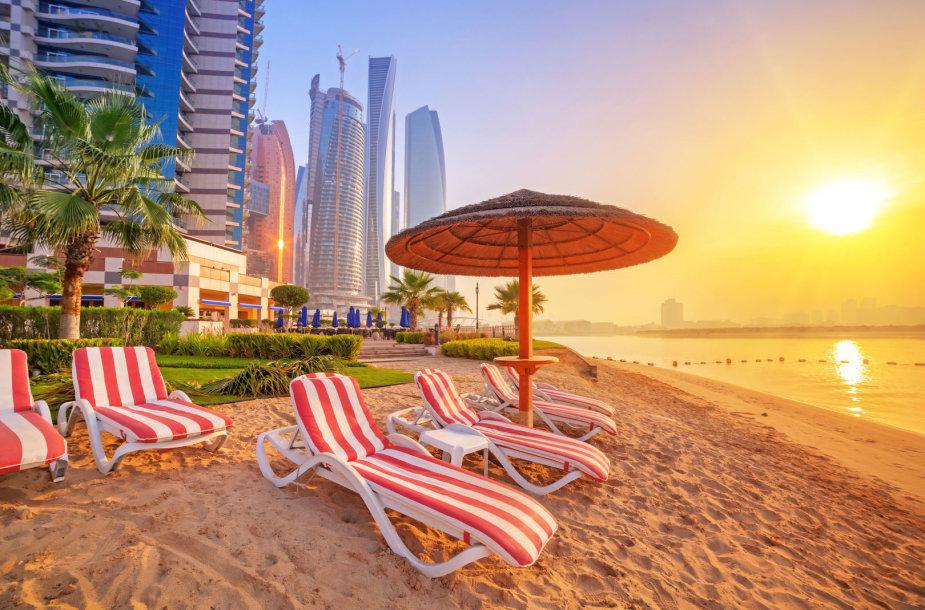 Dubajaus paplūdimiai, Jungtiniai Arabų Emyratai