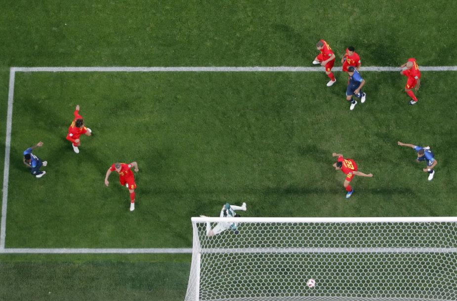 Pirmasis pusfinalis: Belgija – Prancūzija