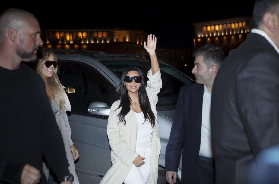 Kim Kardashian Armėnijoje