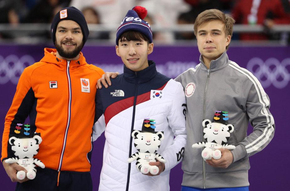 Sjinkie Knegtas, Limas Hyo-jun ir Semenas Elistratovas