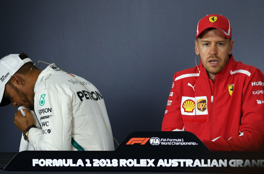 S.Vettelis ir L.Hamiltonas