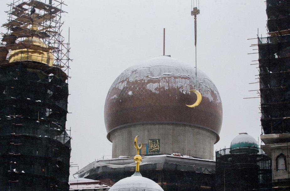 Naujos mečetės statyba Maskvoje