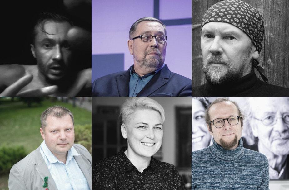 Tomas S.Butkus, Vytautas Kaziela, Alis Balbierius, Rimantas Kmita, Laima Kreivytė, Marius Burokas