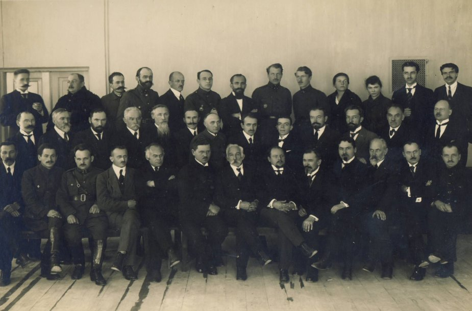 Aukštųjų kursų dėstytojai 1921 m.