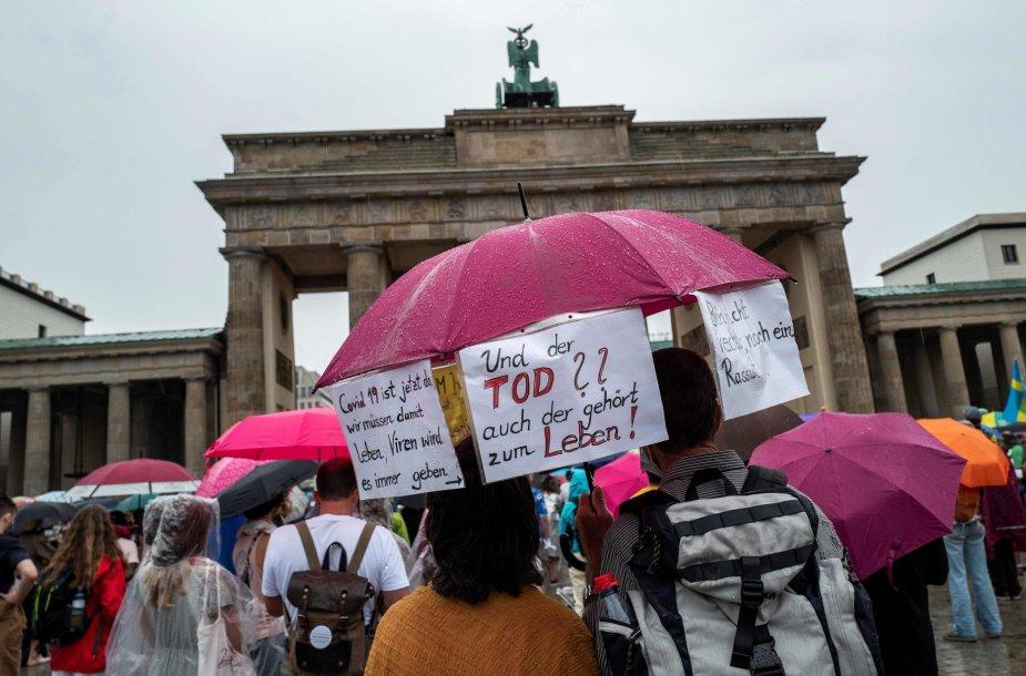 Protestas Berlyne