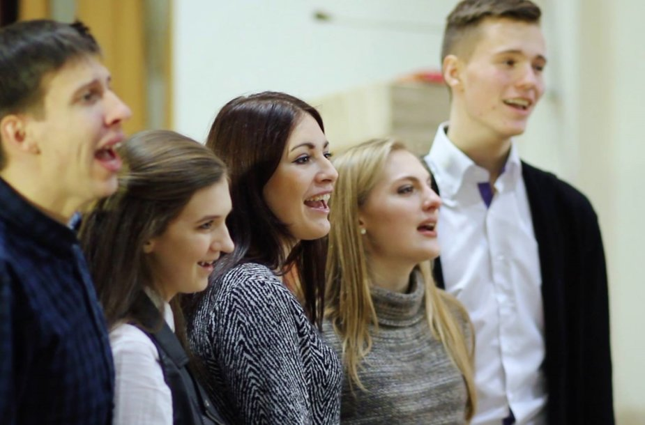 Pristatytas lietuviškos pasaulio jaunimo dienų himno versijos klipas.