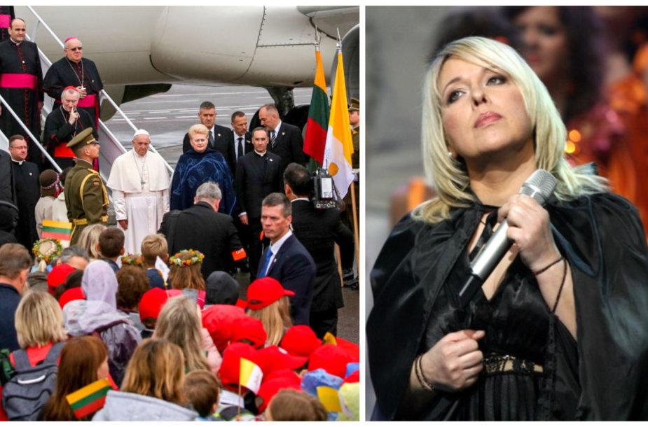 Popiežius Pranciškus ir Eurika Masytė