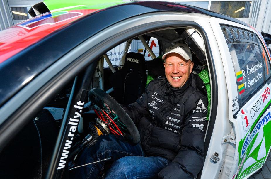 """Ramūno Čapkausko """"Škoda Fabia WRC"""""""
