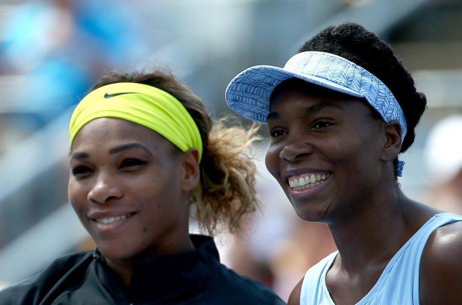 Serena Williams ir Venus Williams