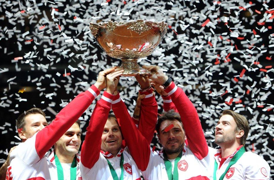 2014 metų Daviso taurės nugalėtoja Šveicarijos rinktinė