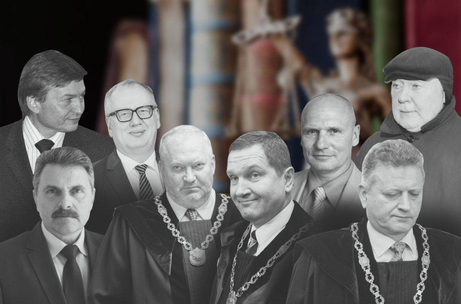 Sulaikyti 8 teisėjai