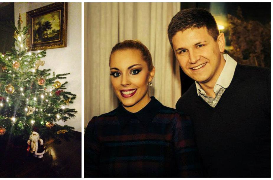 Liepos Mondeikaitės ir Evaldo Norkevičiaus Kalėdų eglė