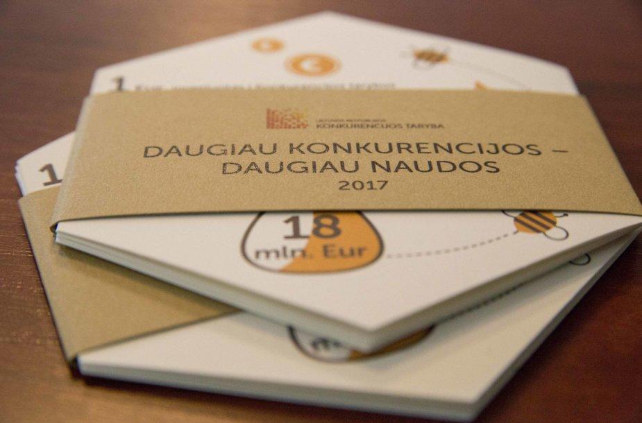 Konkurencijos taryba pristatė praėjusių metų veiklos rezultatus