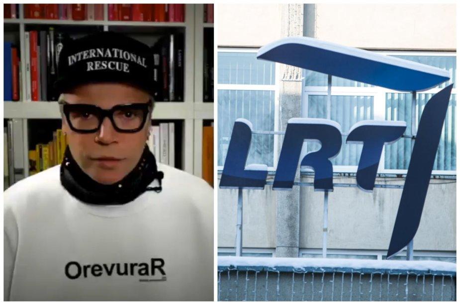 Juozas Statkevičius ir LRT logotipas