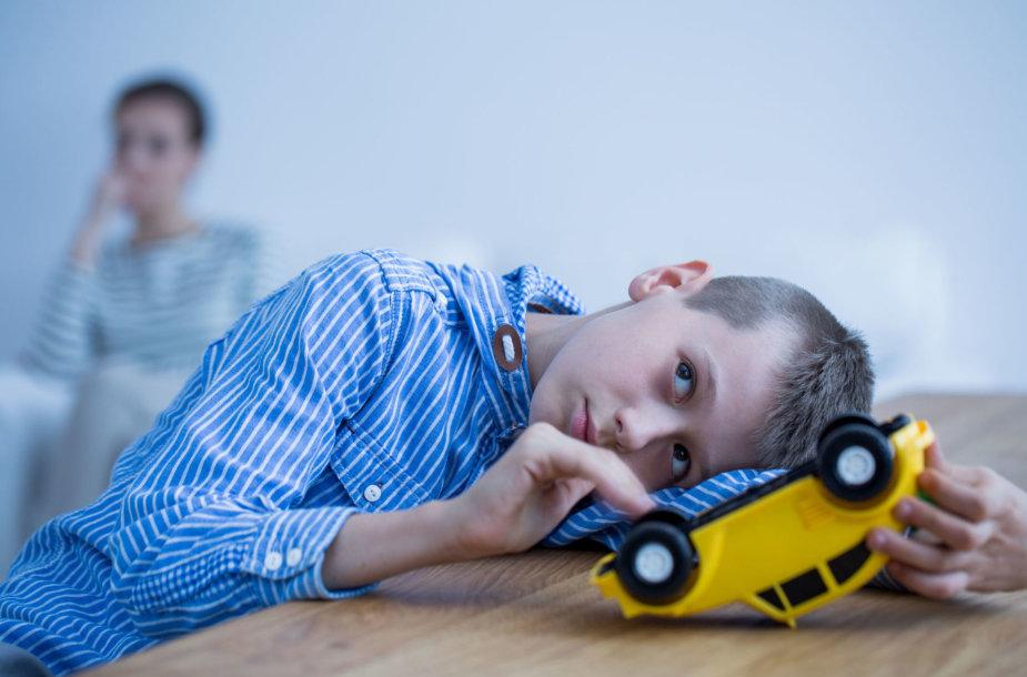 Vaikas, turintis autizmo sutrikimą
