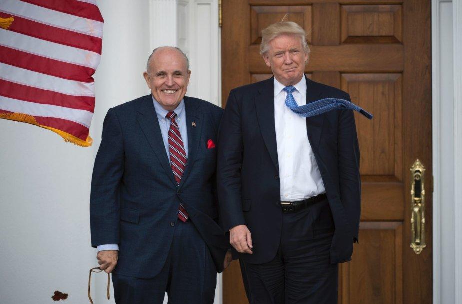 Rudy Giuliani ir Donaldas Trumpas