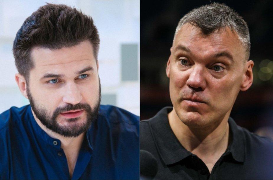 Linas Kleiza ir Šarūnas Jasikevičius