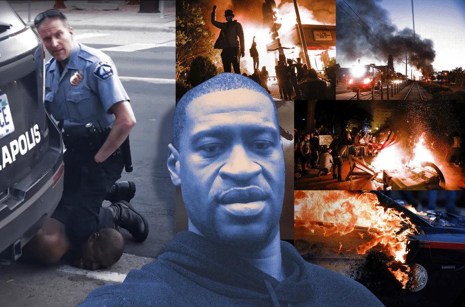 Jungtines Amerikos Valstijas nuo 2020 m. gegužės 26 d. drebina protestai po incidento Mineapolyje, kur neginkluotas juodaodis George'as Floydas mirė policijai jį areštavus, baltajam policininkui keliu spaudžiant vyro kaklą.